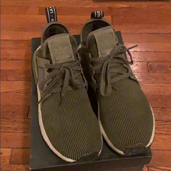more photos a5dc8 355b2 Adidas NMD XR1 Mens 10.5 Olive Green